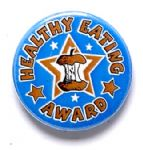 Healthy Eating Award School Badge